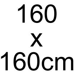 160 x 160 cm